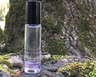 Amethyst Oil Roller