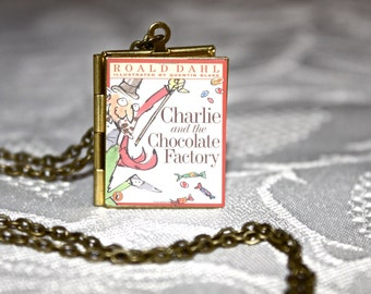 Charlie and the Chocolate Factory Book Locket