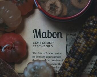 Mabon 2017 WitchBox