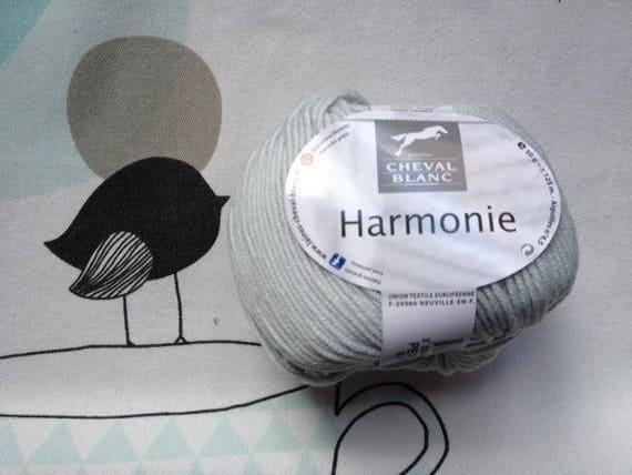 WOOL harmony Pearl - White Horse