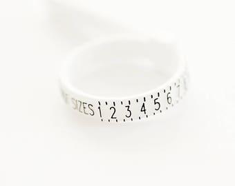 Ring Sizer,  US Ring Sizer, Ring Size Gauge