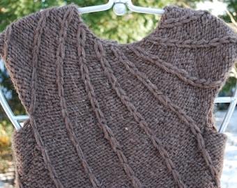 Hand Knit Mini Dress _ Reduced