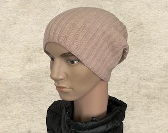 Slouch mens beanie, Slouchy men's hat, Knit wool men hat, Winter hat for men, Boho mens beanie, Trendy mens hat, Knitted men's hats