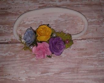 Roses Baby Headband