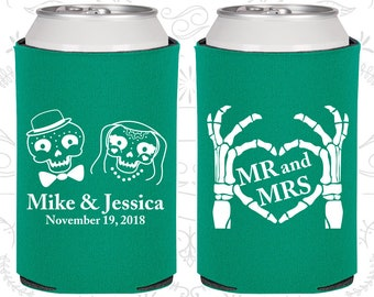 Mr and Mrs, Sugar Skull Wedding, Day of the Dead Wedding, Candy Skull Wedding Favors, Dia De Los Muertos Wedding Favors (206)
