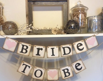 Wedding Shower Banners Bride To Be Chair Banner Rustic Bridal Or Sign