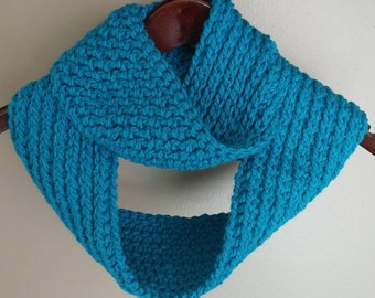 Infinity Scarf, Teal/Turquoise
