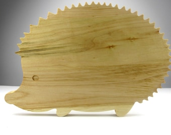 """Cute Hedgehog Cutting Board - Maple - """"Mothers Day Gift"""""""
