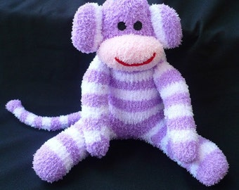 NAIDA the sock monkey