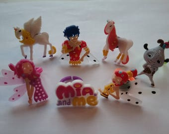 Mia and Me Rings Party Favor Cupcake Toppers