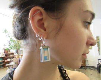 Hand Made Lantern Earrings