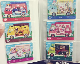 Animal Crossing: New Leaf x Sanrio Amiibo Cards FANMADE