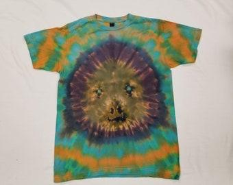 Funky Tie Dye Men's Sloth T-shirt size Medium s463