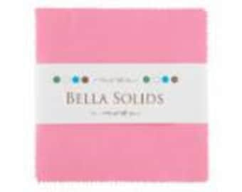 Bella Solids 30's PINK (9900-27) charm pack