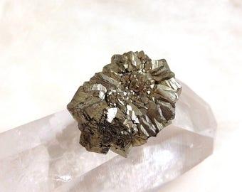 Natural Iron PYRITE Crystal Druzy