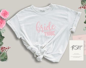 bride tribe tee - bride shirt - wedding shirt - gift for the bride - bride gift - wedding gift - engagement gift - bride gift - bride shirts