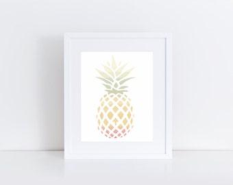 Pineapple Hues 3 (8x10)