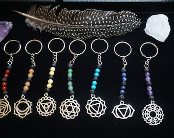 Chakra Keychains *ONLY 7 AVAILABLE*
