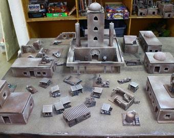 Sci Fi Desert Outpost Terrain Set