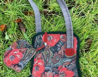 Handbag bag bag made handmade shoulder bag single model