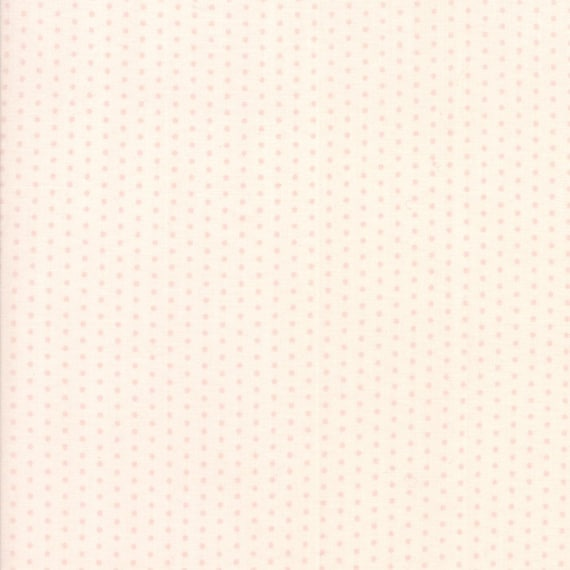Pink Dots on Light Pink Background, Darling Little Dickens by Lydia Nelson of Dreamy Quilts For Moda Fabric by the Yard 49008 15