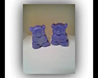 Lavender Buttermilk Teddy bear