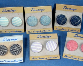 Vintage Post Earrings - Unsold store stock
