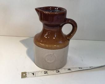 Vintage Creamer Jar Glaze Pottery