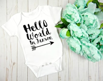 New Baby Gift, Coming Home Outfit, Baby Boy Clothing, Baby Girl Clothing