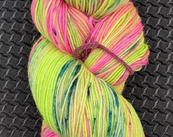 Flower Power - Hand Dyed Yarn