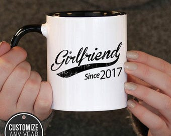 Girlfriend mug etsy more colors girlfriend negle Images