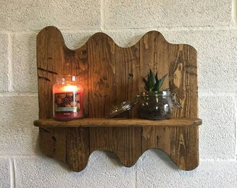 Handmade Reclaimed Wood Shelf