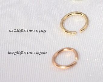 Gold Hoop Earrings, Tiny Hoop Earrings, Thin Hoop Earrings, Gold Sleeper Hoops, Sleeper Hoops, Small Hoop Earrings, Small Hoops