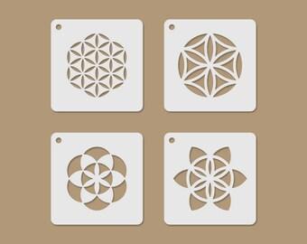 Sacred Motives Mini Stencil Set