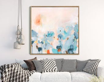 Abstract Wall Art, Abstract Landscape, Giclee Print, Abstract Painting, Modern Art Abstract, Wall Decor, Abstract Print