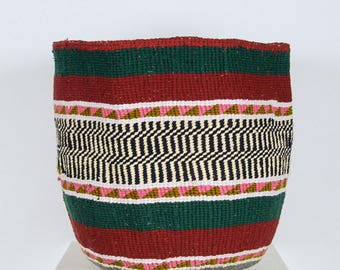 Handwoven Chunky Knit Basket: Autumn Collection