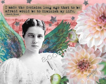 To Be Afraid - Nellie Bly