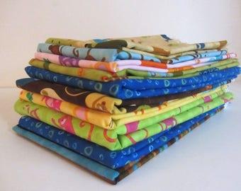 Robert Kaufman Cotton Fabric Bundle Animals OOP