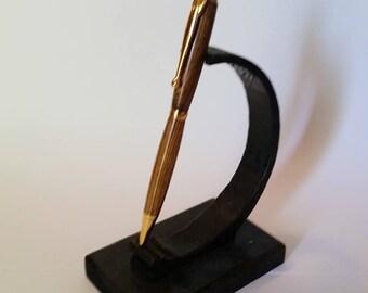Wood Pen, Bocote Wood Pen, Slimline Style, Wood Cross Pen, Best Man Gift, Handmade Pen, Graduation Gift, Cross Pen, Grooms man Gift