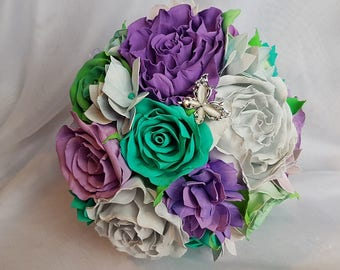 Handmade wedding bouquet, bridal bouquet