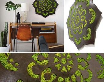 Moss Mandala Wall Hanging