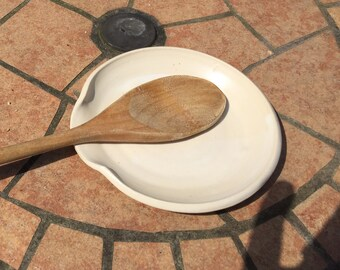 Simply White  Spoon Rest