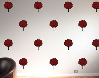 Tree Wall Decals. Seasonal Decor. Tree Decals. Autumn Tree Decal. Wall Decal. Seasonal Decals. Home decor decals. Nature Decor.
