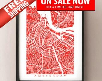 Amsterdam kaart