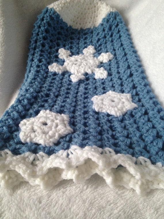 PATRÓN - patrón de copo de nieve bebé cocoon, bebé ganchillo patrón ...