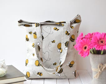 Canvas tote bag, Tote bag canvas,linen, canvas tote, sac, sac cabas, tote bag, canvas tote bags, Shopping bag, Linen bag, farmers market bag