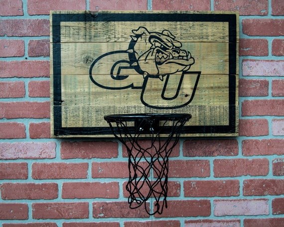Wood Mini Basketball Hoop - Made to Order