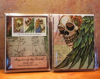 So Cal Day of the Dead Blank Note Cards