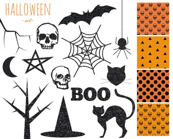60 off sale digital scrapbook paper clip art halloween orange rh etsystudio com Halloween Party Clip Art Halloween Cartoon Clip Art Clear