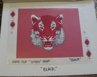 Tiger Advertising Artist Proof, Drawing